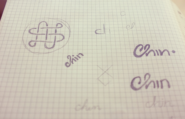 Chin Chin Sketch Process