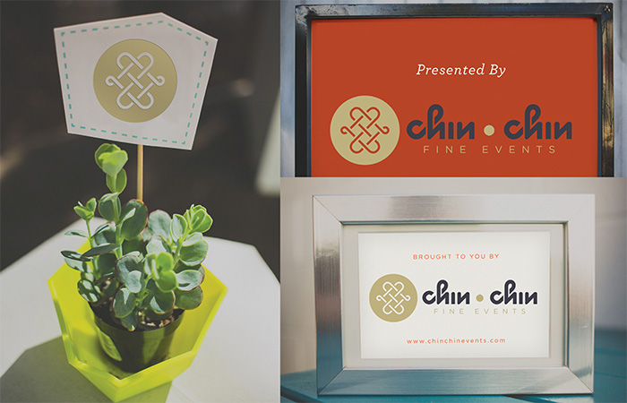 Public Marking - Chin Chin Brand Application Mockup