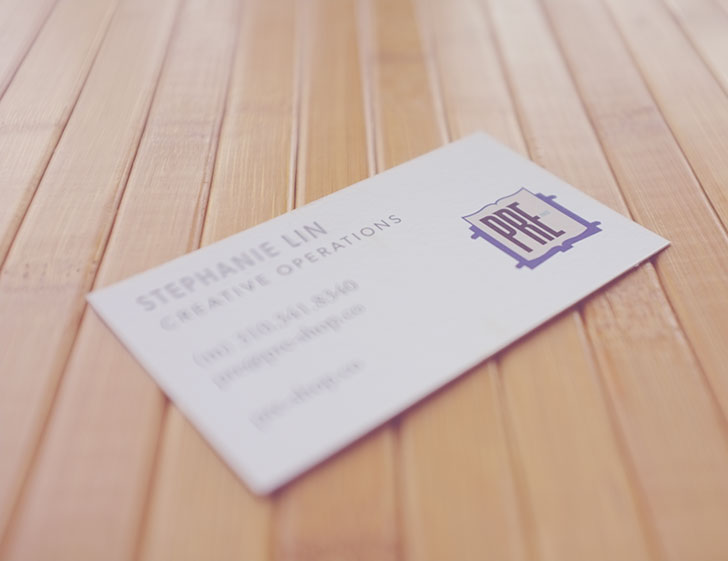 Public Marking PRE- Apparel Business Card