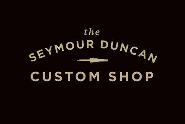 Public Marking - Seymour Duncan Custom Shop Logo