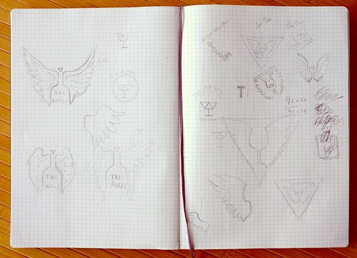 Public Marking - Triangel Sketch Process
