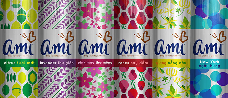 Public Marking Ami Air Fresheners
