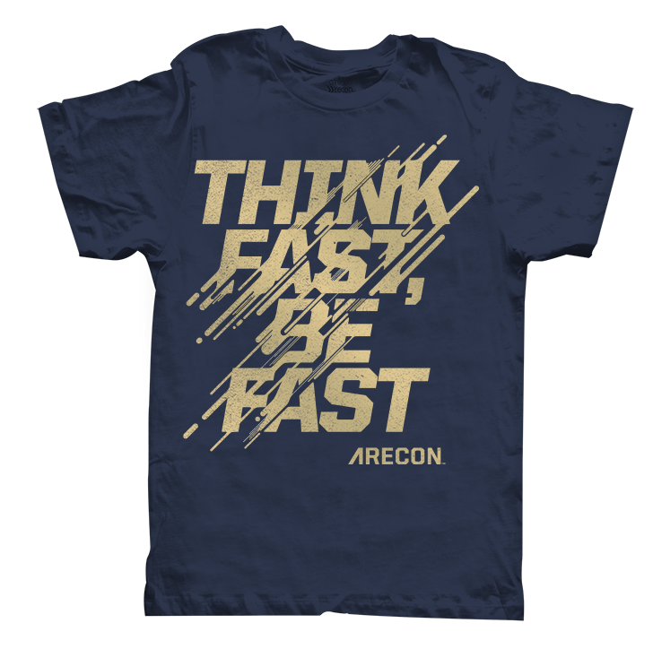 Public Marking Athletic Recon Think Fast Graphic - Shirt