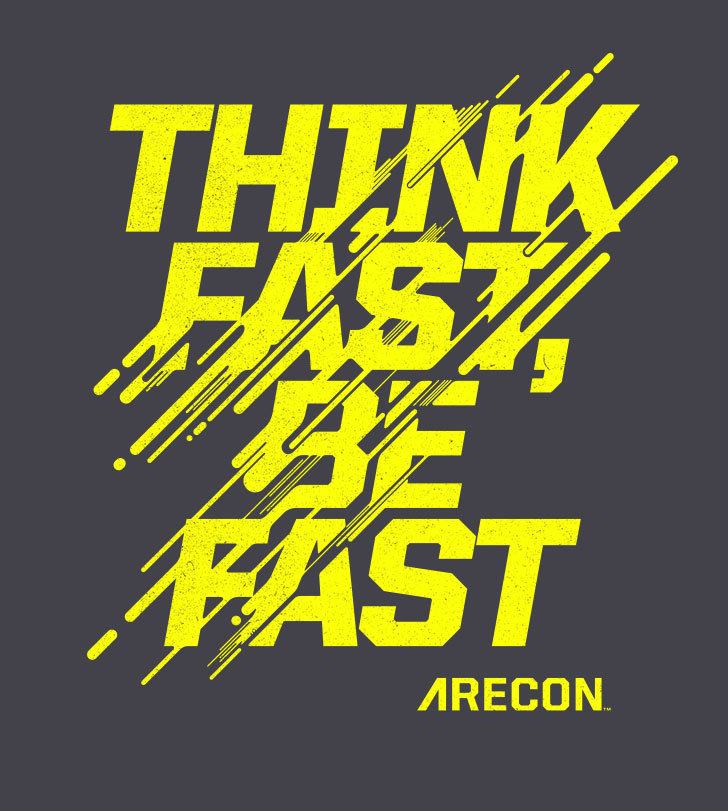 Public Marking Athletic Recon Think Fast Graphic