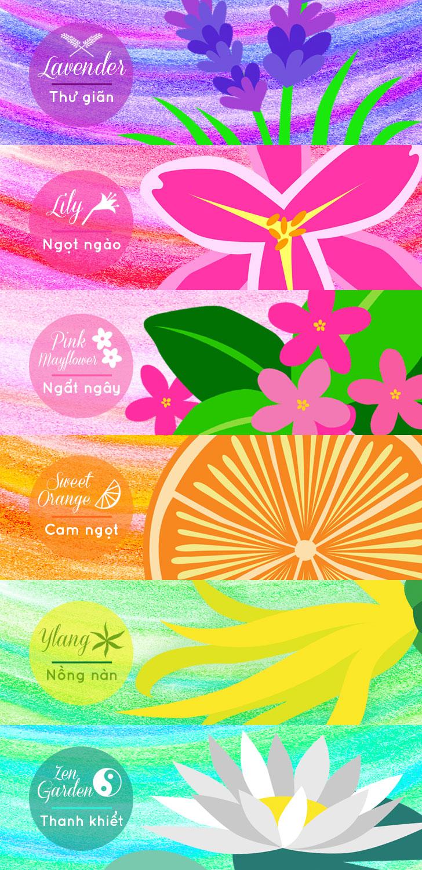 Public Marking Ami Air Freshener Gel - Closeup