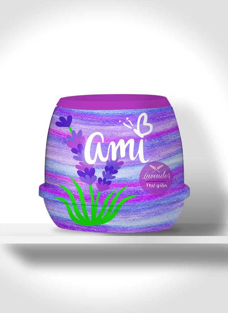 Public Marking Ami Air Freshener Gel - Lavender