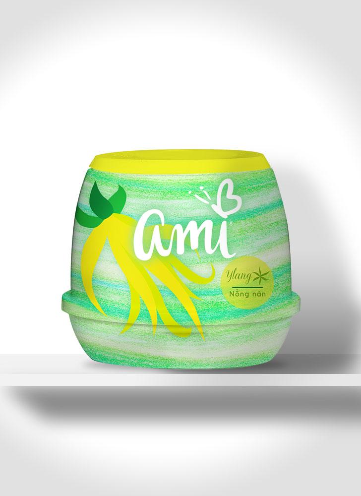 Public Marking Ami Air Freshener Gel - Ylang