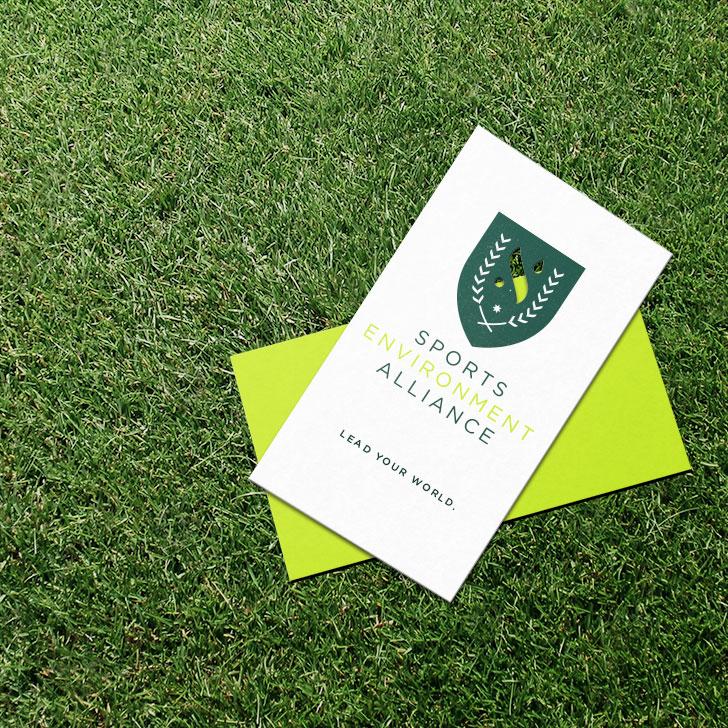 Public Marking Sports Environment Alliance Business Card