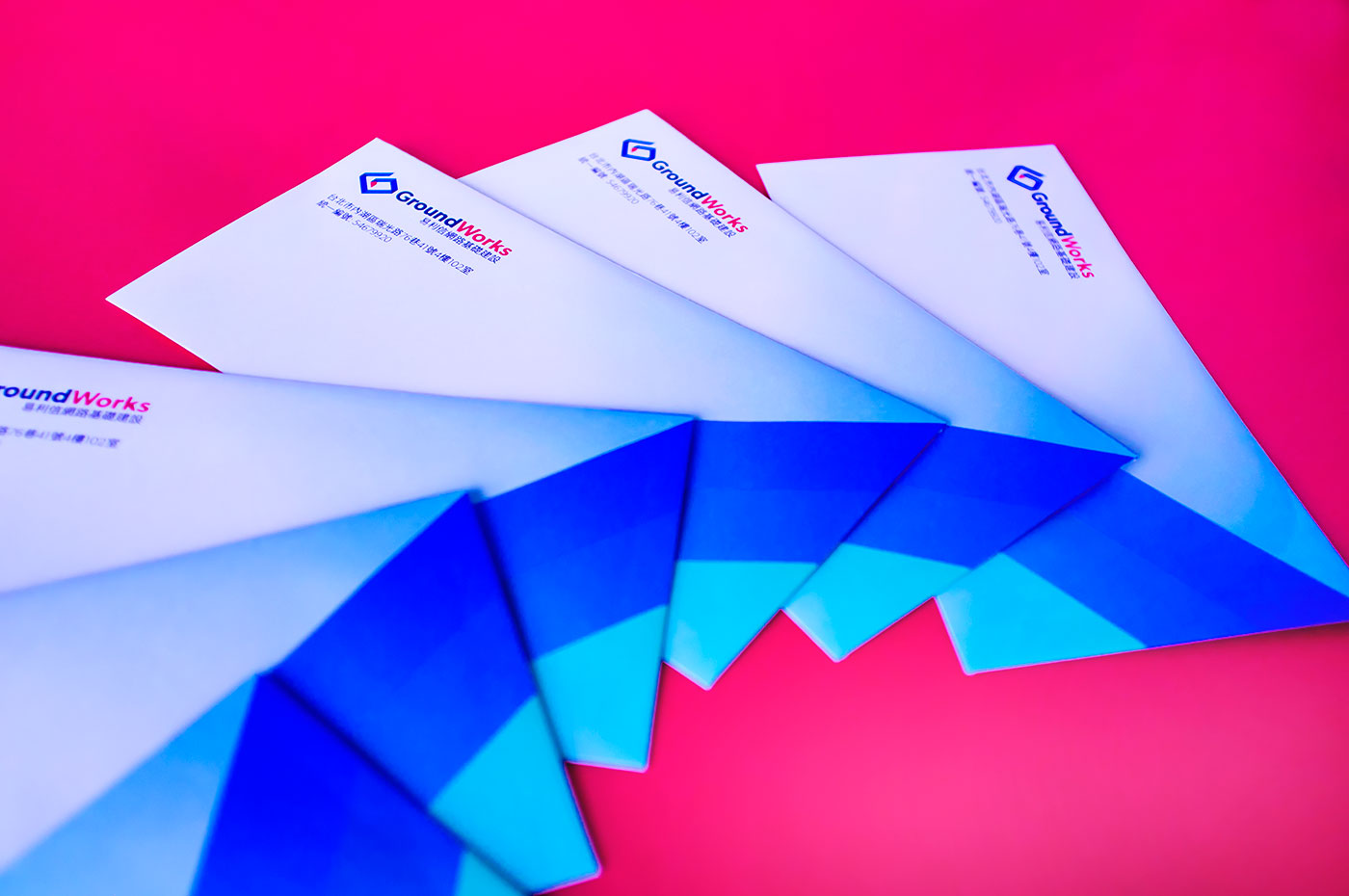 Public Marking GroundWorks Brand Stationery Envelopes