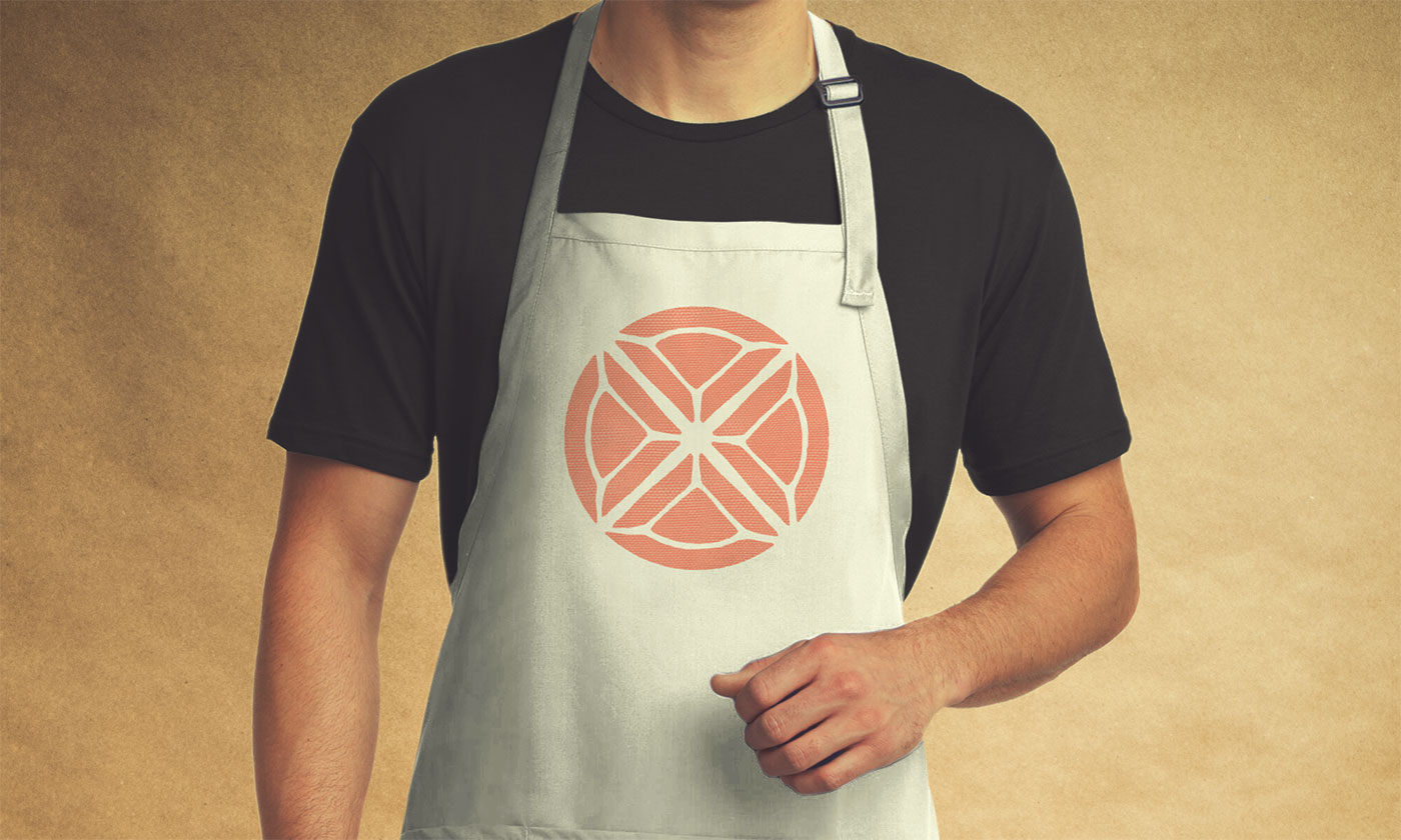Public Marking Let's Eat Apron