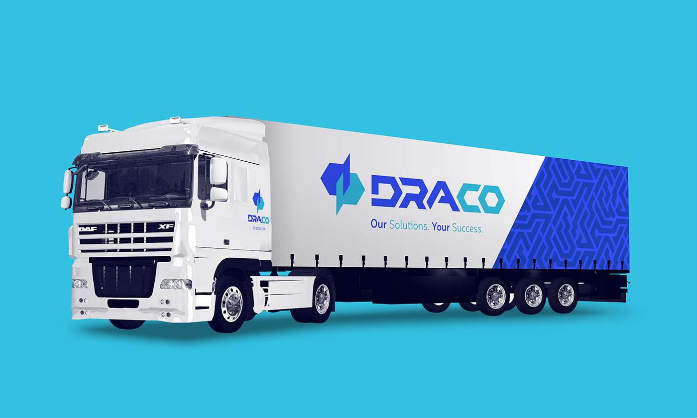 Public Marking Draco Truck
