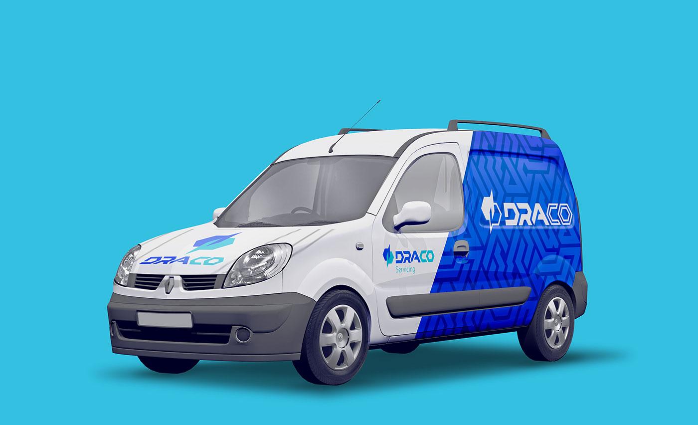 Public Marking Draco Van