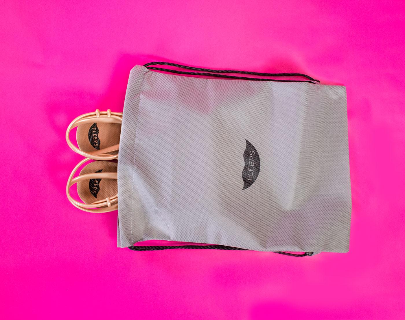 Public Marking Fleeps Packaging Dust Bag