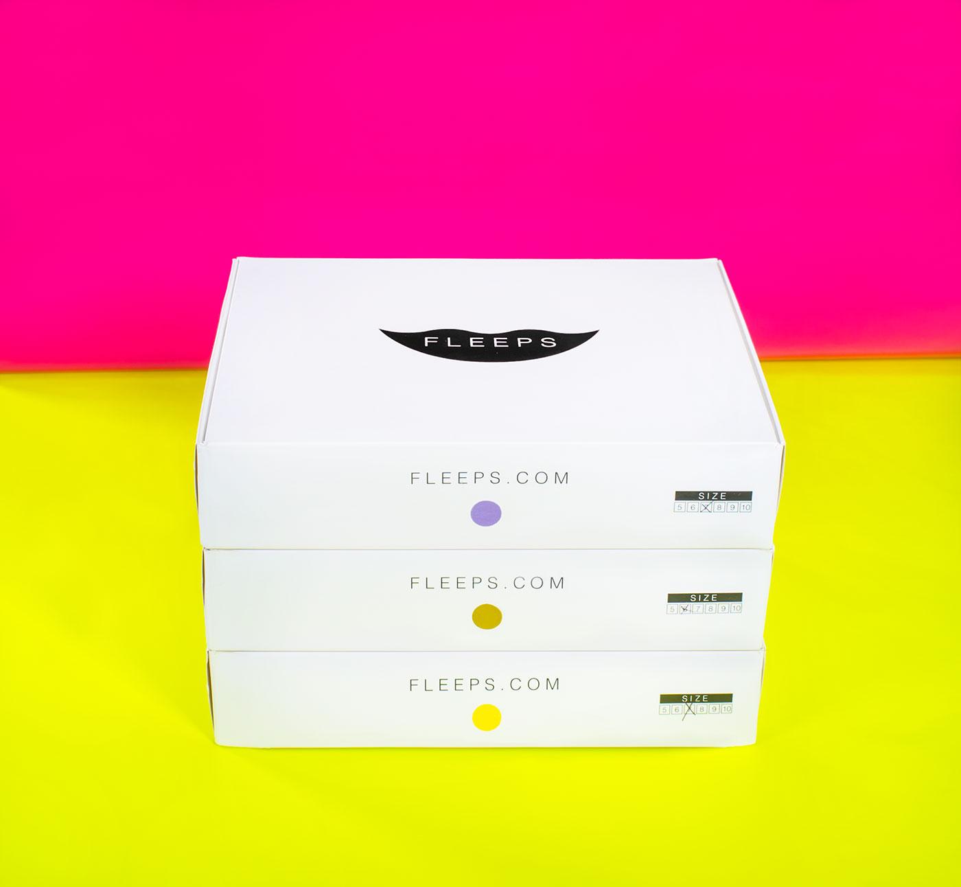 Public Marking Fleeps Packaging Box