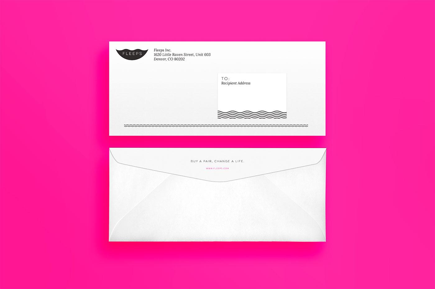 Public Marking Fleeps Stationery Envelope