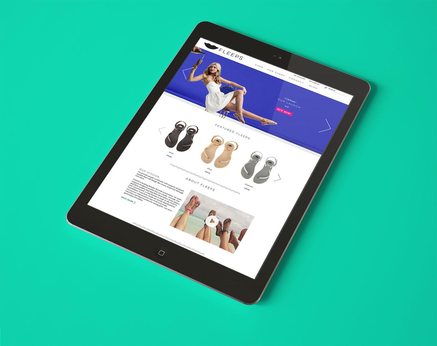 Public Marking Fleeps Website Tablet