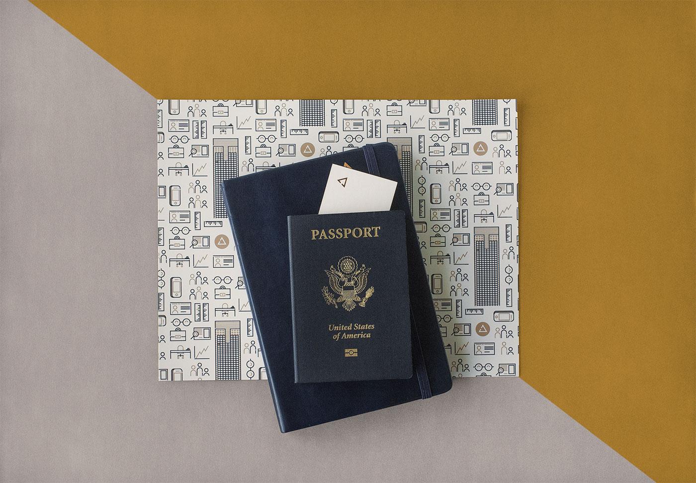 Public Marking Path Law Brand Identity Stationery